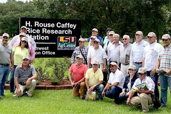 Rice: Columbian Farmers Visit Louisiana and Arkansas
