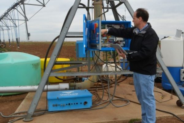 Texas Irrigation: Making Data Gathering Easier