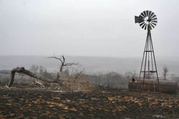 Texas: Ag Damages from Wildfire Estimated at About $21M