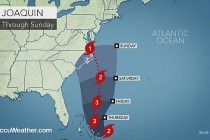 Hurricane Joaquin – How Will It Compare To Sandy, Isabel? – AccuWeather's Outlook.