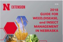 Nebraska: 2018 Weed, Disease, and Insect Management Guide Available