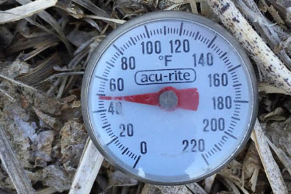 Illinois: Soil Temperatures Rising Across the State