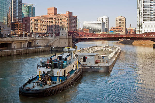 Moving Grain: Barge Tonnages 14% Above Average
