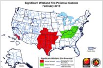 Wildland Fire Potential High in Central & Southern Plains – Kansas, Texas, Oklahoma